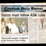 Bill Brown in Cleveland Daily Banner