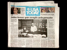 William J Brown in USA Today